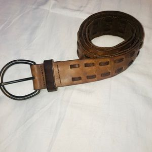 Banana Republic brown leather belt size S